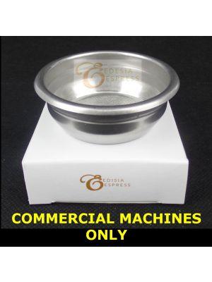 SAECO AROMA 58mm 14g Double Shot Replacement Portafilter Basket Espresso Machine
