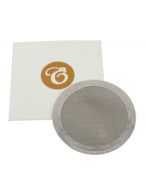 Permanent Reusable Replacement 63mm Filter Disc for Aerobie Aeropress 35 micron