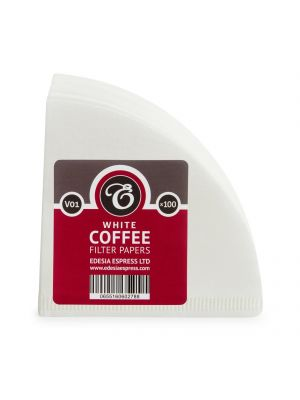 Size V01 white coffee filter papers, compatible with Hario V60 size 01