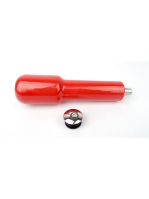 Red Plastic Portafilter Handle - M12 Thread
