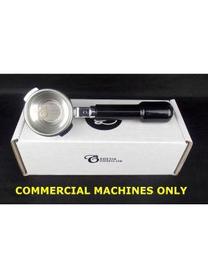 SAECO AROMA SE 58mm Portafilter Espresso Machine Handle - 1 Spout, 7g Basket