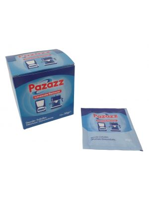 PAZAZZ Limescale Remover Descaler Descaling Powder For Espresso Coffee Machines - 10 Applications