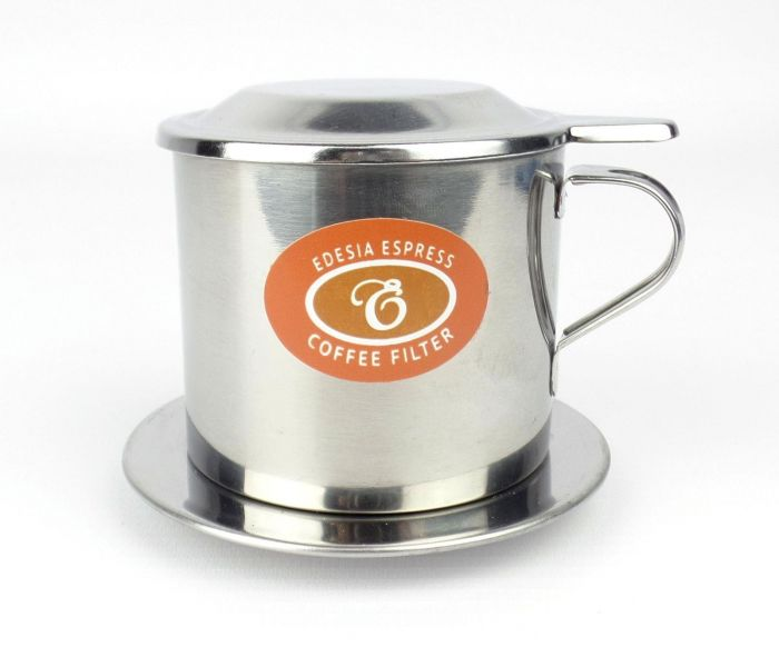 Size 7 Vietnamese Coffee Cup Filter Stainless Steel Phin Ca Phe Screw Filter