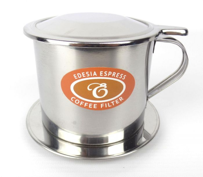 Size 9 Vietnamese Coffee Cup Filter Stainless Steel Phin Ca Phe Screw Filter