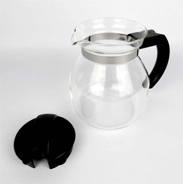 100 free filter papers by EDESIA ESPRESS 1 litre 4 Cup Filter Coffee Maker Jug Set